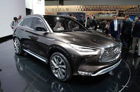 2018 infiniti suv. simple 2018 2018 infiniti qx50 sighting shows detroit concept influence with infiniti suv
