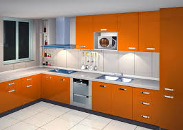 Small Picture Wonderful Modern Kitchen Cabinets Polished Tan With Glass Front E