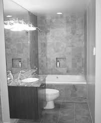 bathroom remodel gray tile. Small Bathroom Remodels In Gray Theme With White Porcelain Bathtub And Sink Vanity Combined Tiles Remodel Tile R