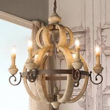 wood chandelier lighting. Delighful Wood Rustic Wood And Rusty Metal Chandelier Inside Lighting O