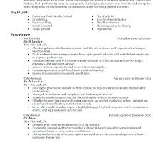 Leadership For Resume – Foodcity.me