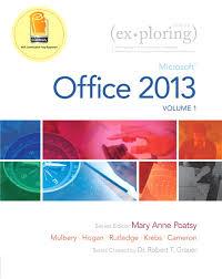 pearson exploring microsoft office 2013 volume 1 mary anne view larger cover exploring microsoft office