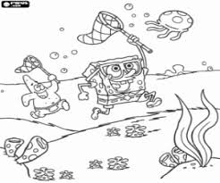 Small Picture SpongeBob SquarePants coloring pages printable games