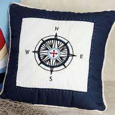 sail away nautical decorative pillows