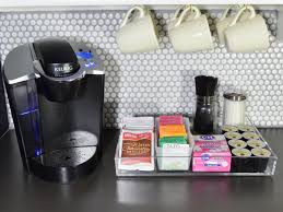 It is accentuated by a chalkboard wall that contrasts with the white furniture and on which. How To Create The Best Home Coffee Bar Hgtv S Decorating Design Blog Hgtv