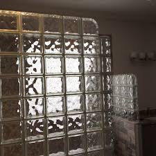 glass block walls and showers