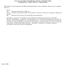 faculty letter of recommendation letter of recommendation for teacher and how to write a good