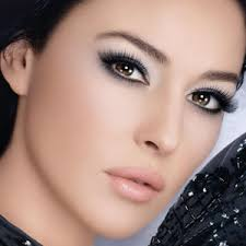 adding false lashes will help give you a more dramatic evening look you can also add glitter onto the eye for that little extra glamor