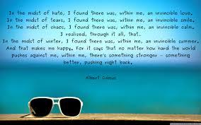 In The Midst Of Hate Albert Camus 2560x1600oc Quotesporn
