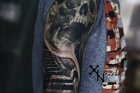 объемные 3d татуировки фото эскизы 3д тату для девушек и мужчин