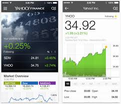 yahoo finance app. Fine Yahoo The Stock Market U2014 Perhaps Itu0027s Following Rogers Bell TELUS Or Even  BlackBerryu0027s Progress Regression Then Newly Redesigned Yahoo Finance App To 3