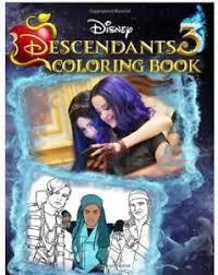 Descendants 3 Coloring Book Premium Coloring Book Based Paperback