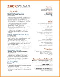 9 Social Media Specialist Resume Offecial Letter Marketing