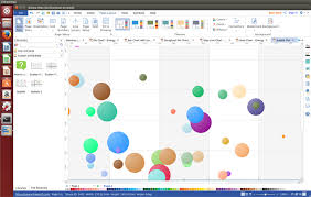 This Bubble Chart Software For Linux Is Definitely A