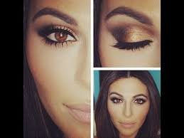 make up for brown eyes with easy step by step instruction video brown eyes eye and brown