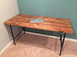 how to make a computer desk out of wood best 25 build a desk ideas on