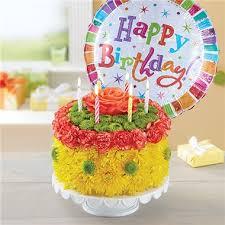1 800 Flowers Birthday Wishes Flower Cake Yellow 1 800 Flowers 4