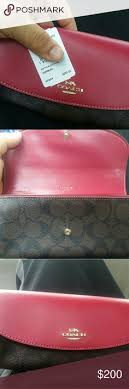 Brand new Coach wallet hot pink  Brown Brand new 200 or best offer Coach  Bags