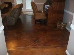 diy concrete sned flooring a
