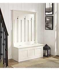 entryway hall tree with storage bench. Fine Entryway White Ogden Entryway Hall Treestorage Bench Intended Tree With Storage Z