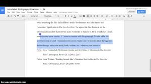 Word  How to Create an Annotated Bibliography Annotated bibliography Sources you should be able to cite in overviews  In mla format of cognitive  science of the source used to create an alphabetical list of the article s