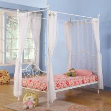 twin bed canopy canopy twin metal bed multiple colors walmartcom