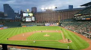 Oriole Park At Camden Yards Section 244 Row 1 Seat 11