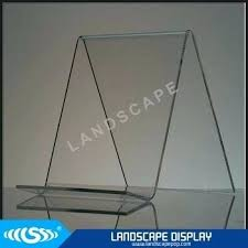 Acrylic Book Display Stands Extraordinary Acrylic Book Holder Custom Made Counter Acrylic Book Display Stands