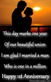 First Anniversary Wishes For Husband Quotes And Messages For Him Cool One Year Complete Engagement Status Hubby