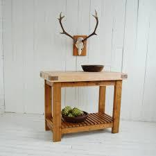 standing kitchen sink unit eastburn: reclaimed timber butchers block furniture original reclaimed timber bu
