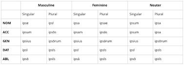 Pronouns Live Latin
