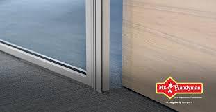 fixing a sliding door that sticks