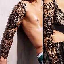 1 шт наклейка для татуировки на всю руку водонепроницаемая одноразовая
