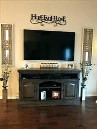 wall behind tv decorating decorating blank wall