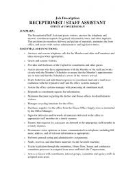 office office assistant job description 29052017 resume for cal front desk receptionist jobs vz8