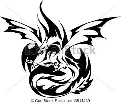 Drawings Of Phoenix Fiery Phoenix Tattoo