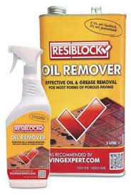 resiblock oil remover easily and