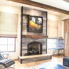 reclaimed wood fireplace over wood stove possible wood accent wall reclaimed wood fireplace diy