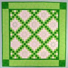 Double Irish Chain Shamrock Quilt - Advanced Embroidery Designs & Click here to enlarge Adamdwight.com