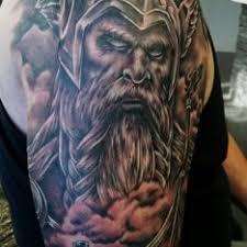 Tetování Bojovníci Rameno Tetování Tattoo
