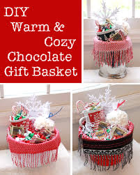 DIY Warm And Cozy Chocolate Gift Basket Ideas  I Think I Will Be Chocolate For Christmas Gifts