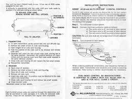 2017 marantec comfort 250 garage door opener manual info