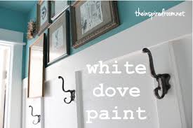 white dove paintThe Best White Paint  The Inspired Room