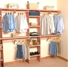 wardrobe organizer solid aromatic cedar closet organizer with solid cedar shelving kit contains one deluxe unit and two solid hanging kits 4 shelves and