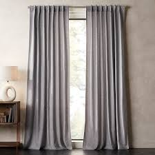 brushed cotton flannel houndstooth curtain panel