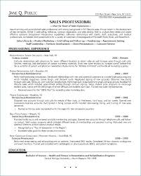 Outside Sales Representative Sample Resume Best Inside Sales Representative Resume Lovely Resume Sales
