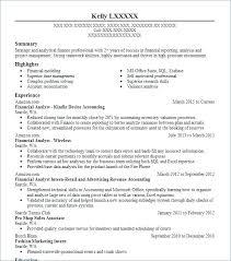 Financial Analyst Resumes Extraordinary Senior Financial Analyst Resume Summary Skills Sample Professional