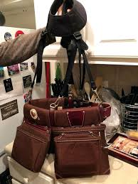 occidental leather bags used tool belt suspenders for in electrician bag occidental leather