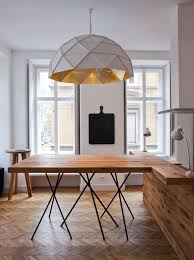 Lightings : 38 Modern Pendant Light Design Ideas To Inspire You - Oversized  White Pendants With Textured Cover For Chic Interior medium version