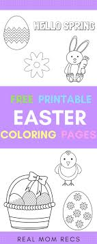 4 Free Printable Easter Coloring Pages Just Download And Print